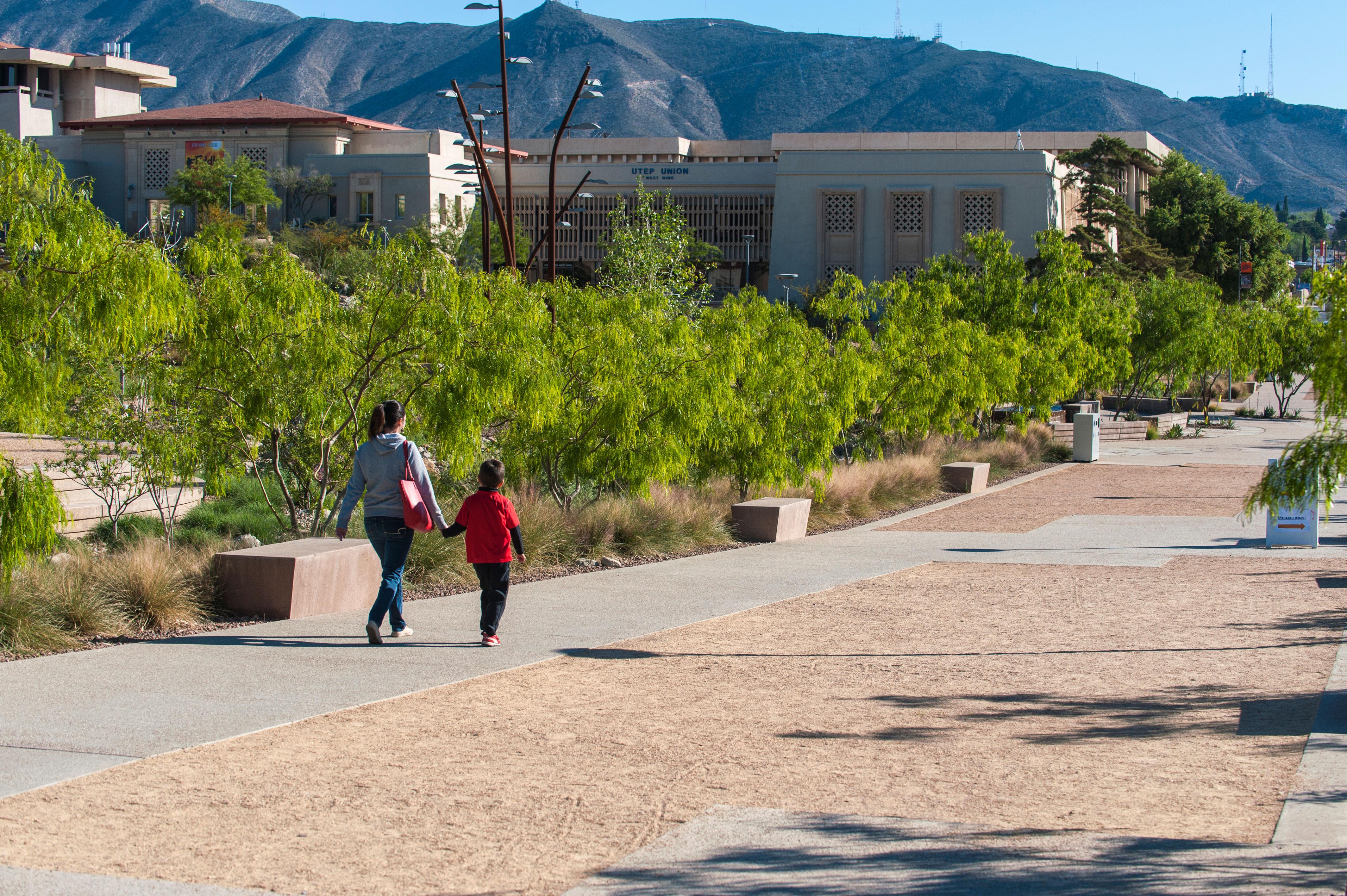 http www sustainablesites org university texas el paso